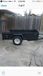 5x8 utility trailer with electric brakes