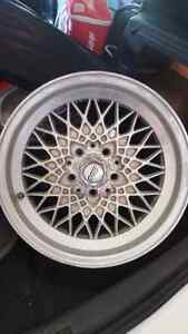 "16"" BBS basket weave wheels"