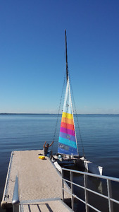 18ft Hobbie Cat, Ready to go. CATAMARAN