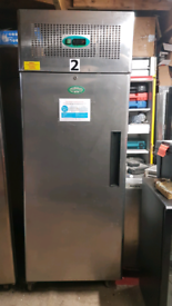 Genfrost 700 litres commercial chiller stainless steel fully working