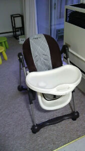 ADJUSTABLE HIGH CHAIR EDDIE BAUER MEAL TIME Kitchener / Waterloo Kitchener Area image 1