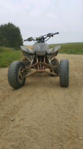 trx450r 2007 with papers trade for a good car