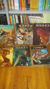 Collection bande dessinee morea