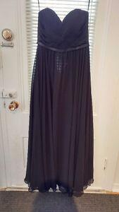 Superbe robe de bal noire