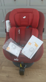Joie 360 spin car seat in Merlot red
