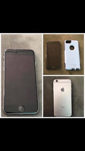 iPhone 6S 16GB with purple Otter box