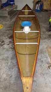 15.5ft kevlar river canoe