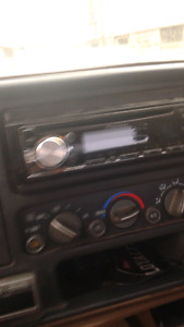 89-99 gmc- chevy stereo accessories