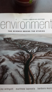 Environment: The Science Behind The Stories.