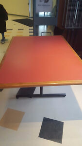 Large sturdy used rectangle table (3 available)