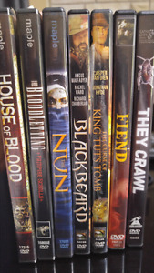 Horror Movie Lot