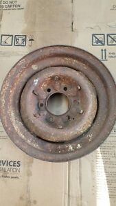 "1955 to 1960 15 "" 6 bolt Steel GM truck rim for Sale"