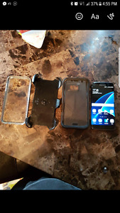 Samsung s7 edge with otter box defender