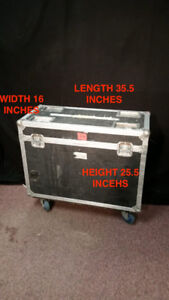 USED HEVY DUTY MAC250 ROAD CASE FOR SALE