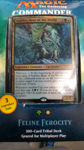Magic Commander 2017 Feline Ferocity Deck