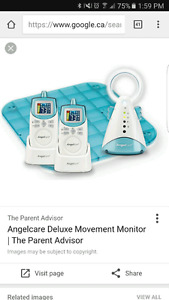 Baby monitor with pad sensor