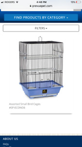 Brand new bird cages for budgie, finch, canary's