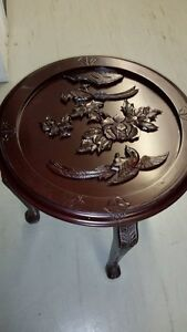 Excellent condition - coffee tables, side tables, and stool set