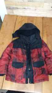 Winter Coat and Snowpants (boys small size 6-7) Cambridge Kitchener Area image 1