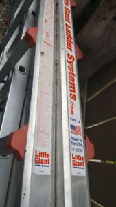 8ft Little Giant Aluminum Ladder in Great Shape