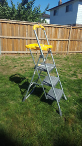 3-Step Sturdy Castco Fold able Step Stool.