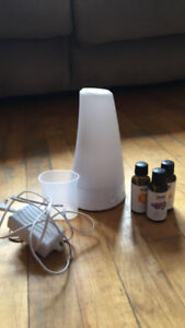 Oil Diffuser with 3 Essential Oils