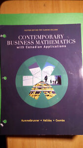 Contemporary Business Mathematics Tenth Edition