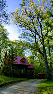 Mountainview Chalet cottage rental Calabogie  max 6 adults