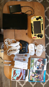 Wii U 32GB with 57 games