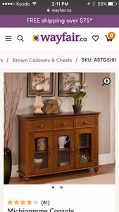 Beautiful Cabinet/Entry Table