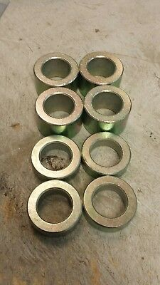 Finish Mower Wheel Spacer Kit Bushings . Bush Hog Woods Land Pride Etc