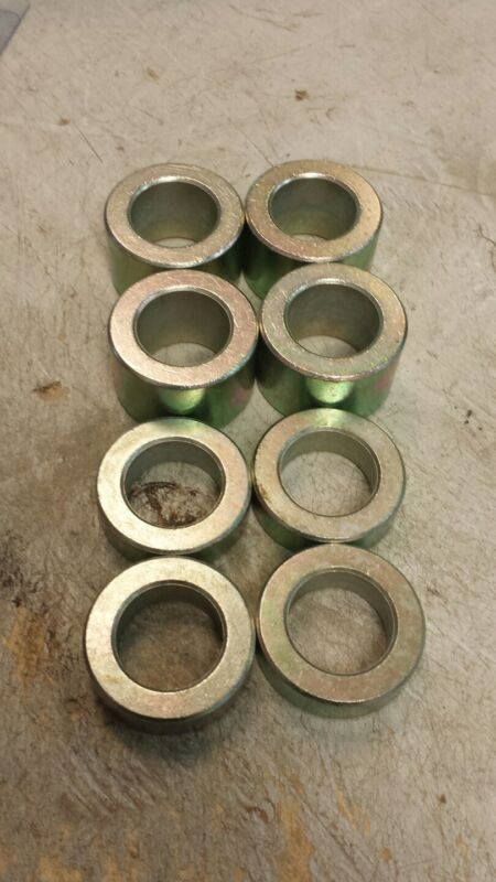 Finish mower wheel spacer kit bushings . bush hog, woods, land pride etc