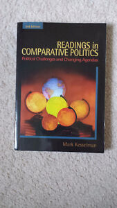 UWO Text - Readings in Comparative Politics (2nd Ed.) - Used