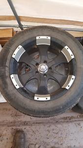 18inch  Ion wheels for jeep