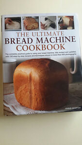 'The Ultimate Bread Machine Cookbook' - Jennie Shapter HARDCOVER
