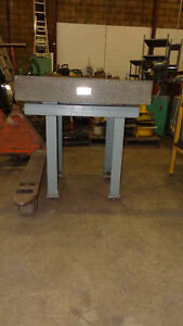 Mitutoyo Graplate Table, Repurpose as Kitchen Island, In Auction London Ontario image 5