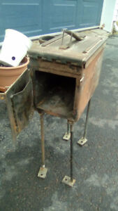 Homemade camp stove (holding for pick up)