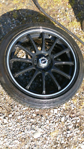 "17"" RTX R spec rims and tires 5x114"