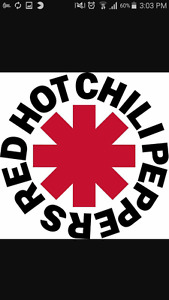 red hot Chili peppers ticket!! June 20