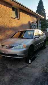 2001 Honda civic for parts