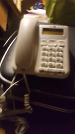 Landlines phone.
