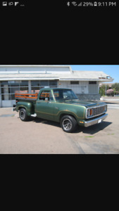 Looking for a short box dodge around 1973