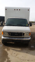 2007 FORD E-450 CUBE-VAN LOW MILES CERTIFIED AND E-TESTED