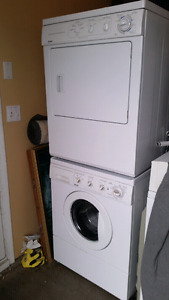 apartment size washer and dryer stackable