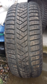 Pair £80. Winter Tyres 205 50 17 Pirelli sotto zero 7mm tread