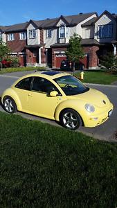 2003 Volkswagen Beetle GLX 1.8 L Turbo Coupe (2 door)