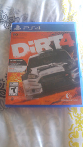 Dirt 4. For PS4
