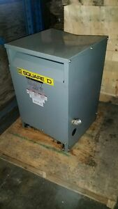 Square D 45kva Transformer 480 volt to 208Y/ 120 Stratford Kitchener Area image 1