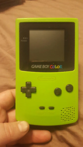 Gameboy color - Lime Green