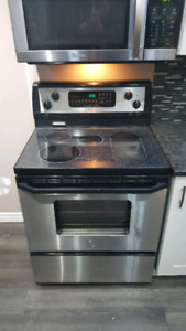 Stainless Steel Stove - $200